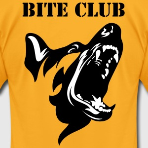K9-1 Bite Club Shirt - Men's T-Shirt by American Apparel