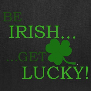 Be Irish Get Lucky Tote Bag - Tote Bag