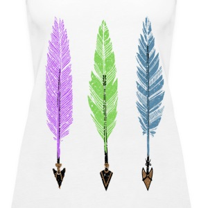 Feathers and Arrows Tanks - Women's Premium Tank Top