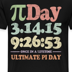 Ultimate Pi Day 2015 T-Shirts - Men's Premium T-Shirt