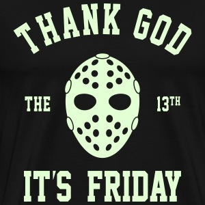 FRIDAY THE 13TH GLOW IN THE DARK MEN PREMIUM TEE - Men's Premium T-Shirt