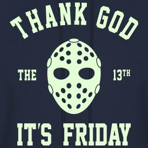 FRIDAY THE 13TH GLOW IN THE DARK MEN HOODIE SWEAT - Men's Hoodie
