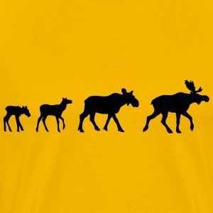Moose Family Shirt - Men's Premium T-Shirt