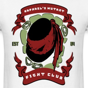 Raph's Mutant Fight Club T-Shirts - Men's T-Shirt