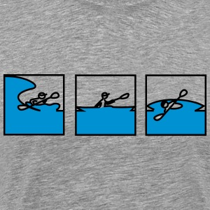 Surf, paddle and roll - Men's Premium T-Shirt