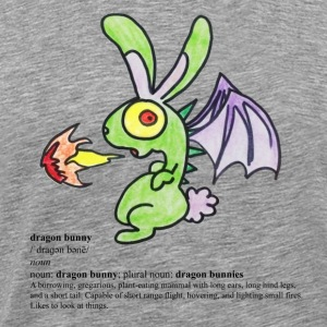 Dragon Bunny T-Shirts - Men's Premium T-Shirt