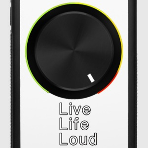 Live Life Loud Accessories - iPhone 6/6s Rubber Case