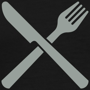 knife and fork T-Shirts - Men's Premium T-Shirt