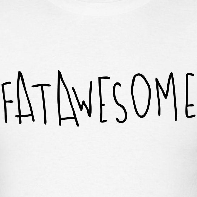 Fatawesome (black logo)