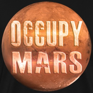 Occupy Mars T-Shirt - Men's Premium T-Shirt