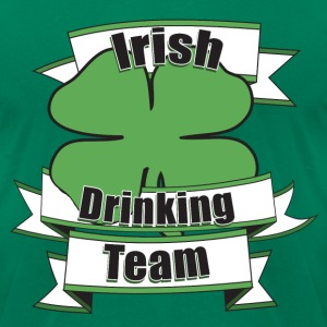 Irish Drinking TEAM - Men's T-Shirt by American Apparel