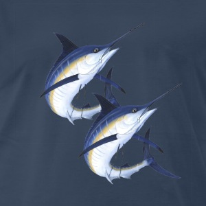 Twin Marlins - Men's Premium T-Shirt
