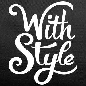 With Style! Cool & Trendy Typography Design  Bags & backpacks - Duffel Bag