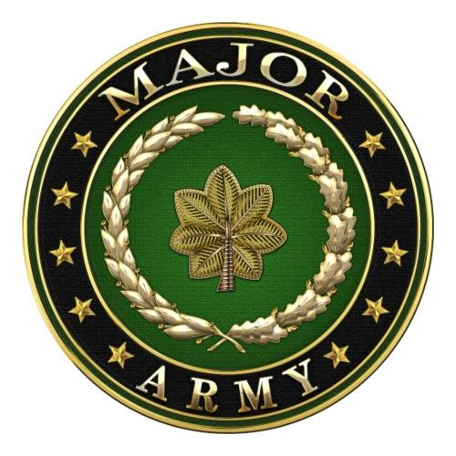 Major (MAJ) Rank