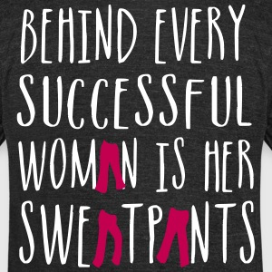 Behind Every Successful Woman - Country Closet T-Shirts - Unisex Tri-Blend T-Shirt by American Apparel