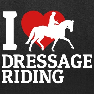 I love dressage riding Bags & backpacks - Tote Bag