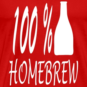homebrew_100_ba1 T-Shirts - Men's Premium T-Shirt
