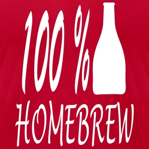homebrew_100_ba1 T-Shirts - Men's T-Shirt by American Apparel