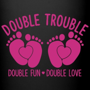 double trouble - double fun - double love Mugs & Drinkware - Full Color Mug