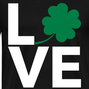 Love Shamrock - Country Closet T-Shirts - Men's Premium T-Shirt
