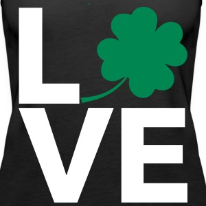 Love Shamrock - Country Closet Tanks - Women's Premium Tank Top