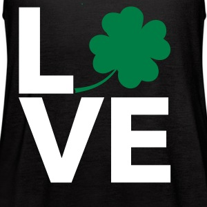 Love Shamrock - Country Closet Tanks - Women's Flowy Tank Top by Bella