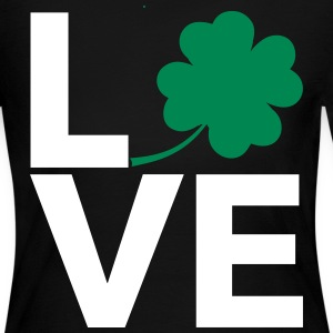 Love Shamrock - Country Closet Long Sleeve Shirts - Women's Long Sleeve Jersey T-Shirt