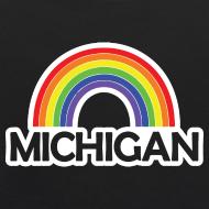Design ~ Kelly's Michigan Rainbow Shirt