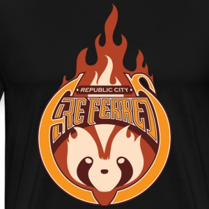 Republic City FireFerrets T-Shirts - Men's Premium T-Shirt