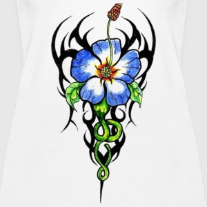 tribal flower Tanks - Women's Premium Tank Top