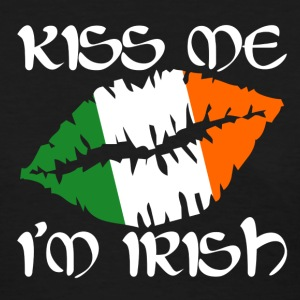 Kiss Me I'm Irish Design - Women's T-Shirt