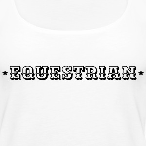 Equestrian Tanks - Women's Premium Tank Top