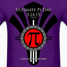 Ultimate Pi Day 31415 Red Fan Men's T-Shirt