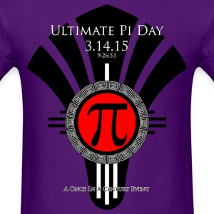 Ultimate Pi Day 31415 Red Fan Men's T-Shirt - Men's T-Shirt