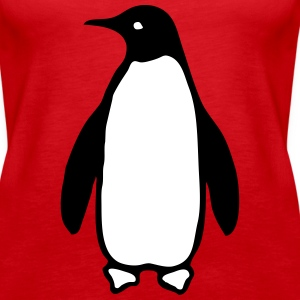 Penguin Tanks - Women's Premium Tank Top