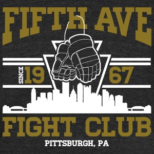 Fifth Ave T-Shirts - Unisex Tri-Blend T-Shirt by American Apparel