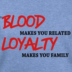 Blood makes you related... Long Sleeve Shirts
