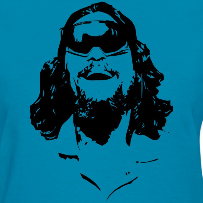 The Dude Rides Women's T-Shirt