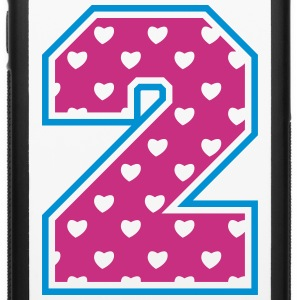 2 - Two - Number two Accessories - iPhone 6/6s Rubber Case