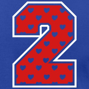 2 - Two - Number two T-Shirts - Men's T-Shirt by American Apparel