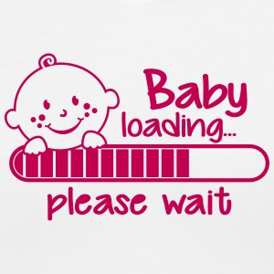 Baby loading... please wait Women's T-Shirts - Women's V-Neck T-Shirt