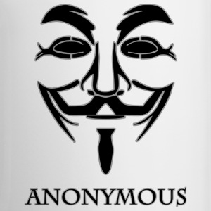 Anonymous-black.png Mugs & Drinkware - Coffee/Tea Mug