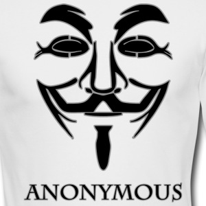 Anonymous-black.png Long Sleeve Shirts - Men's Long Sleeve T-Shirt by Next Level