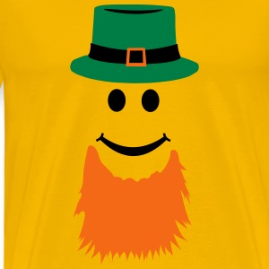 Smiley Leprechaun T-Shirts - Men's Premium T-Shirt