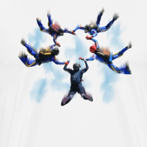 skydivers T-Shirts - Men's Premium T-Shirt