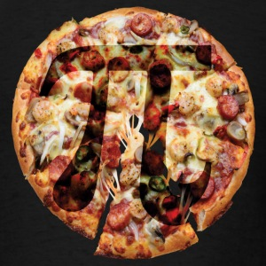 Pizza Pi - Men's T-Shirt