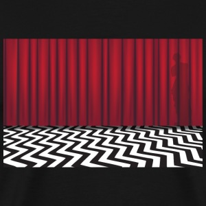 Black Lodge Red Room - Men's Premium T-Shirt