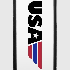 USA Font Emblem 3c Accessories - iPhone 6/6s Rubber Case