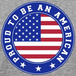 Proud to be an American 3c T-Shirts - Men's Premium T-Shirt