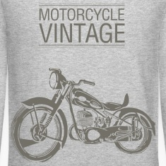 Motocicleta Vintage4 Long Sleeve Shirts